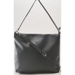 Torba na ramię - Czarny. Czarne torebki klasyczne damskie marki B'TWIN, z materiału. Za 69,99 zł.