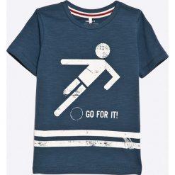 Name it - T-shirt dziecięcy 92-128 cm. Szare t-shirty męskie z nadrukiem Name it, z bawełny. W wyprzedaży za 27,90 zł.