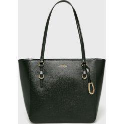 Lauren Ralph Lauren - Torebka. Szare torebki klasyczne damskie marki Lauren Ralph Lauren, z materiału, średnie. W wyprzedaży za 749,90 zł.