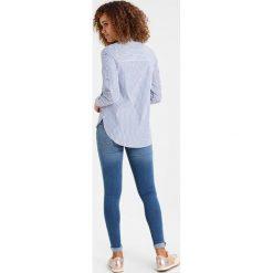 Koszule wiązane damskie: Springfield CAMISA BORDADO  Koszula marine blue