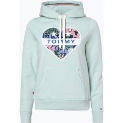 Bluzy damskie: Tommy Jeans - Damska bluza nierozpinana, zielony