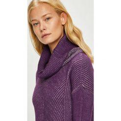 Trendyol - Sweter. Brązowe golfy damskie Trendyol, l, z bawełny, z krótkim rękawem. W wyprzedaży za 69,90 zł.