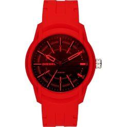 Zegarek DIESEL - Ambar Silicone DZ1820 Red/Red. Czerwone zegarki męskie Diesel. Za 379,00 zł.