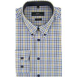 Koszula BIAGIO 16-04-37-K. Czarne koszule męskie na spinki marki TOM TAILOR DENIM, l, z bawełny, button down, z długim rękawem. Za 199,00 zł.