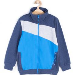 Bluza. Niebieskie bluzy chłopięce rozpinane ATHLETICS, z bawełny. Za 59,90 zł.