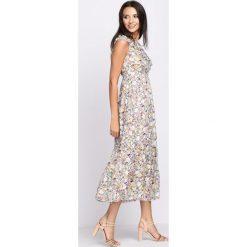 Sukienki: Brązowa Sukienka Carousel