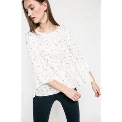 Answear - Bluzka. Szare bluzki nietoperze marki ANSWEAR, m, z tkaniny, casualowe, z okrągłym kołnierzem. W wyprzedaży za 59,90 zł.