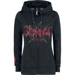 Slipknot EMP Signature Collection Bluza z kapturem rozpinana damska czarny. Czarne bluzy rozpinane damskie Slipknot, xl, z aplikacjami, z materiału, z kapturem. Za 244,90 zł.