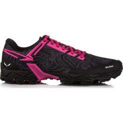 Buty trekkingowe damskie: Salewa Buty damskie Lite Train Michelin czarno-różowe r. 40 (6447934)
