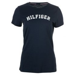 Tommy Hilfiger T-Shirt Damski M Ciemny Niebieski. Niebieskie t-shirty damskie TOMMY HILFIGER, m. Za 139,00 zł.
