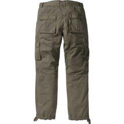 """Bojówki męskie: Spodnie bojówki """"Loose Fit Tapered"""" bonprix ciemnooliwkowy"""