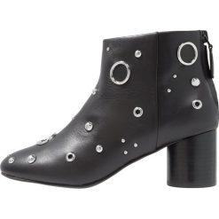 Senso OMAR  Ankle boot ebony. Czarne botki damskie skórzane marki Senso. Za 969,00 zł.
