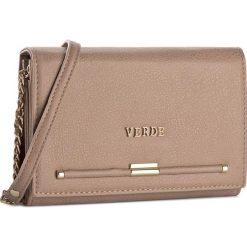 Torebka VERDE - 01-0001103 Dusty Pink. Brązowe torebki klasyczne damskie marki ARTENGO, z materiału. Za 99,00 zł.