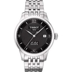 PROMOCJA ZEGAREK TISSOT T-CLASSIC T006.408.11.057.00. Czarne zegarki męskie TISSOT, ze stali. W wyprzedaży za 3863,20 zł.