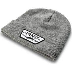 Czapka VANS - Milford Beanie VN000UOUHTG Heather Grey. Szare czapki zimowe damskie marki Vans, z materiału. Za 79,00 zł.