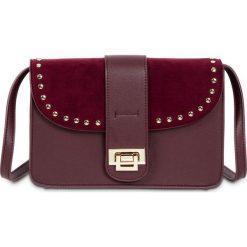 Torebka na ramię z ćwiekami bonprix czerwony klonowy. Czerwone torebki klasyczne damskie marki Reserved, duże. Za 74,99 zł.