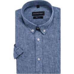 Koszula SIMONE KLGR500034. Czarne koszule męskie marki TOM TAILOR DENIM, l, z bawełny, button down, z długim rękawem. Za 169,00 zł.