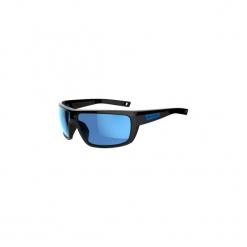 Okulary przeciwsłoneczne HIKING 300 KAT3. Czarne okulary przeciwsłoneczne damskie aviatory QUECHUA, z poliamidu. Za 59,99 zł.