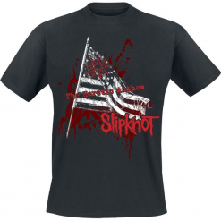 Slipknot Heretic anthem T-Shirt czarny. Czarne t-shirty męskie Slipknot, l. Za 74,90 zł.