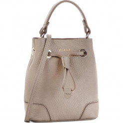 Torebka FURLA - Stacy 1014386 B BOW7 K59 Sabbia b. Szare torebki klasyczne damskie marki Furla, ze skóry. Za 1060,00 zł.