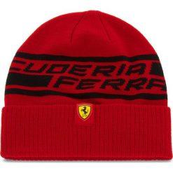 Czapka PUMA - SF Fanwear Beanie 021775 01 Rosso Corsa. Czerwone czapki męskie Puma, z elastanu. W wyprzedaży za 119,00 zł.