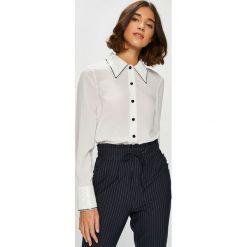 Silvian Heach - Koszula Tampico. Szare koszule damskie marki Silvian Heach, l, z dzianiny, z włoskim kołnierzykiem. Za 369,90 zł.