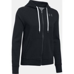 Bluzy rozpinane damskie: Under Armour Bluza damska Favorite Fleece FZ czarna r.M (1298415-001)