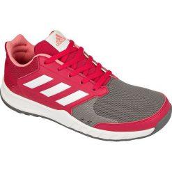 Buciki niemowlęce: Adidas Buty dziecięce FortaGym K Jr różowo-szare r. 35 1/2 (BA9354)