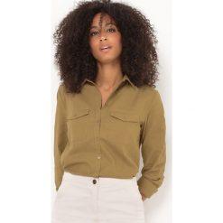 Bielizna damska: Koszula lniana, taliowana