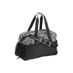 Torba fitness kardio 30l. Czarne torebki klasyczne damskie DOMYOS, z materiału. W wyprzedaży za 54,99 zł.
