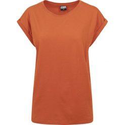 Bluzki damskie: Urban Classics Ladies Extended Shoulder Tee Koszulka damska pomarańczowy