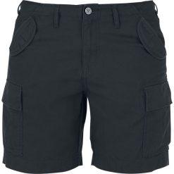 Bermudy damskie: Black Premium by EMP Cargo Shorts Krótkie spodenki damskie czarny