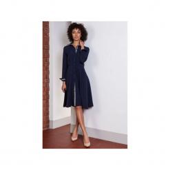Rozkloszowana sukienka, SUK151. Niebieskie sukienki na komunię Lanti, na co dzień, rozkloszowane. Za 169,00 zł.