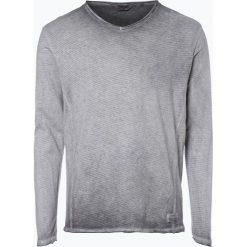T-shirty męskie: Solid – Męska koszulka z długim rękawem – Maxen, szary