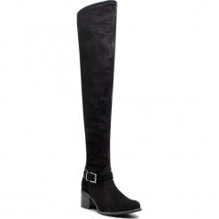 Muszkieterki KARINO - 2760/003-P Czarny. Czarne buty zimowe damskie Karino, ze skóry. Za 459,00 zł.