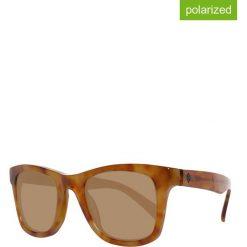 Okulary przeciwsłoneczne męskie: Okulary męskie w kolorze jasnobrązowym