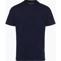 Review - T-shirt męski, niebieski. Niebieskie t-shirty męskie z nadrukiem marki Review. Za 39,95 zł.