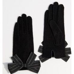 Wełniane rękawiczki - Czarny. Brązowe rękawiczki damskie marki Roeckl. Za 49,99 zł.