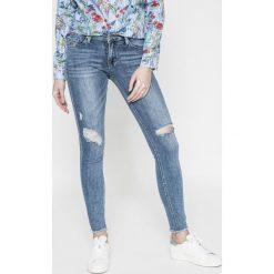 Answear - Jeansy. Niebieskie jeansy damskie rurki marki House, z jeansu. W wyprzedaży za 99,90 zł.