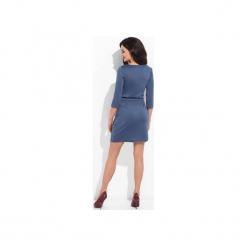 Sukienka niebieska tulip. Czerwone sukienki na komunię marki Cocoviu, do pracy, l, biznesowe, trapezowe. Za 169,00 zł.