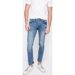 Only & Sons - Jeansy Warp. Niebieskie jeansy męskie skinny Only & Sons, z bawełny. W wyprzedaży za 89,90 zł.