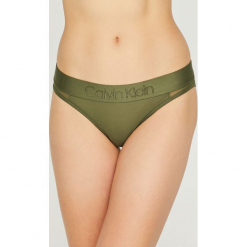 Calvin Klein Underwear - Figi. Brązowe figi Calvin Klein Underwear, l, z dzianiny. Za 99,90 zł.