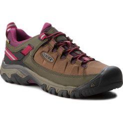 Trekkingi KEEN - Targhee Exp Wp 1018556 Canteen/Grape Wine. Brązowe buty trekkingowe damskie Keen. W wyprzedaży za 329,00 zł.