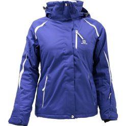 Kurtki damskie softshell: Salomon Salomon Slope Jacket W  371831  fioletowe XL