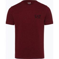 T-shirty męskie: EA7 Emporio Armani - T-shirt męski, czerwony