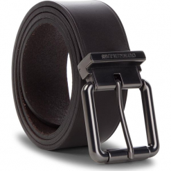 Pasek Męski CALVIN KLEIN - J Roller Adj.Belt 3.5Cm K50K504325 201. Brązowe paski męskie Calvin Klein, w paski, ze skóry. Za 229,00 zł.