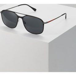Prada Linea Rossa Okulary przeciwsłoneczne black. Czarne okulary przeciwsłoneczne męskie aviatory Prada Linea Rossa. Za 899,00 zł.