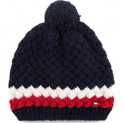 Czapka TOMMY HILFIGER - Bubble Beanie AM0AM03991 901. Niebieskie czapki zimowe damskie TOMMY HILFIGER, z materiału. Za 229,00 zł.
