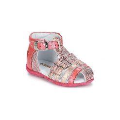Sandały Dziecko  GBB  PHILADELPHIA. Czerwone sandały dziewczęce GBB. Za 207,20 zł.