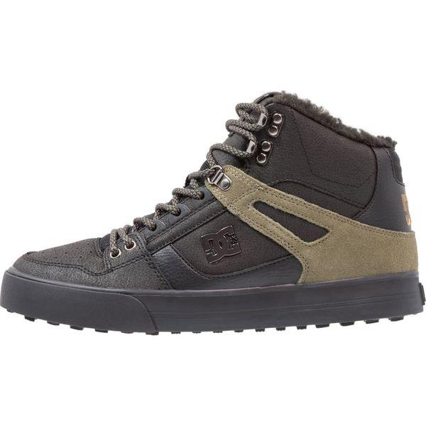 688ec832e9302 DC Shoes PURE HIGH WC WNT Buty skejtowe black - Czarne trampki ...